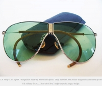 The First Aviator Sunglasses revealed!